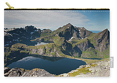 Tennesvatnet And Krokvatnet From Munken Carry-all Pouch