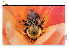 Carry-all Pouch featuring the photograph The Bee by Cathy Donohoue