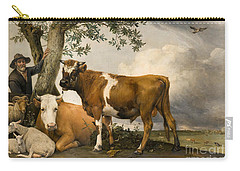 The Bull Carry-all Pouch by Paulus Potter
