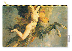 The Chimera Carry-all Pouch by Gustave Moreau