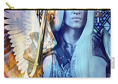 The Guardian Carry-all Pouch by Suzanne Silvir