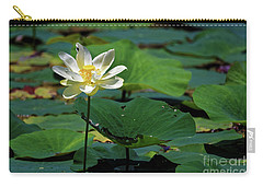 The Lotus Pond Carry-all Pouch by Paul Mashburn