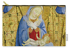 The Madonna Of Humility Carry-all Pouch