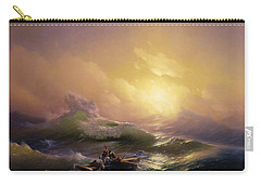 The Ninth Wave Carry-all Pouch by Hovhannes Aivazovsky