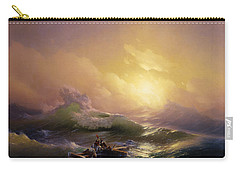 The Ninth Wave Carry-all Pouch by Ivan Aivazovsky