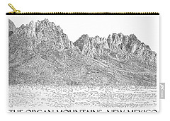 The Organ Mountains Carry-all Pouch by Jack Pumphrey