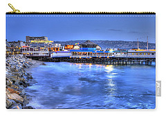 Redondo Landing At Night Carry-all Pouch