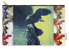 The Winged Victory - Paris - Louvre Carry-all Pouch