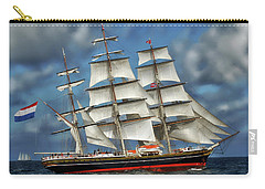 Three Mast Schooner Carry-all Pouch