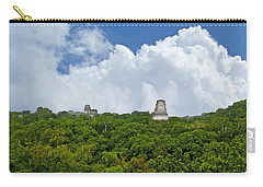 Tikal, Guatemala Carry-all Pouch by Marius Sipa