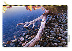 Carry-all Pouch featuring the photograph Torres Del Paine 001 by Bernardo Galmarini
