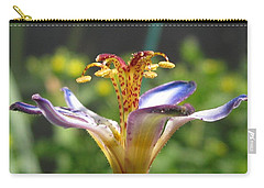 Tricyrtis Named Taipei Silk Carry-all Pouch by J McCombie