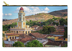 Carry-all Pouch featuring the photograph Trinidad Cuba Cityscape II by Joan Carroll