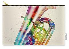 Musical Digital Art Carry-All Pouches