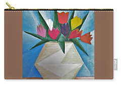 Tulips Carry-all Pouch by Tamara Savchenko