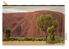 Carry-all Pouch featuring the photograph Uluru 08 by Werner Padarin
