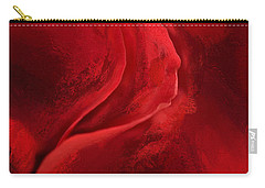 Unfurling Beauty IIi Carry-all Pouch