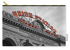 Union Station - Denver  Carry-all Pouch