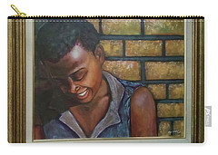 Carry-all Pouch featuring the painting Untitled by Alga Washington