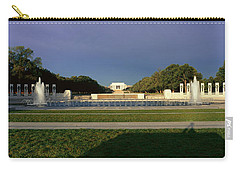 U.s. World War II Memorial Carry-all Pouch by Panoramic Images