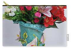 Vase, Rose Calla Carry-all Pouch