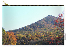 View Of Abbott Lake And Sharp Top In Autumn Carry-all Pouch by Emanuel Tanjala