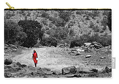 Carry-all Pouch featuring the photograph Walk  by Charuhas Images