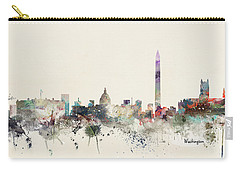 Washington Dc Skyline Carry-all Pouch
