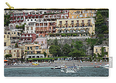 Water Taxi From Amalfi To Positano Carry-all Pouch