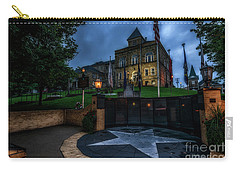 Carry-all Pouch featuring the photograph Webster County Courthouse by Thomas R Fletcher