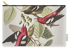White-winged Crossbill Carry-all Pouch by John James Audubon