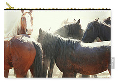 Wild Horses - Australian Brumbies 3 Carry-all Pouch
