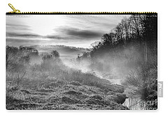 Carry-all Pouch featuring the photograph Winter Mist by Thomas R Fletcher