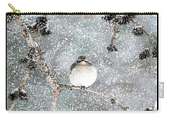 Winter Mockingbird Carry-all Pouch