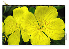 Carry-all Pouch featuring the photograph Yellow Flowers by Stephanie Moore