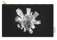 White Skyround Art Of Los Angeles, United States Carry-all Pouch