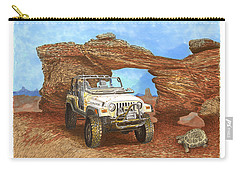 2005 Jeep Rubicon 4 Wheeler Carry-all Pouch by Jack Pumphrey