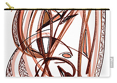 2010 Abstract Drawing Five Carry-all Pouch by Lynne Taetzsch