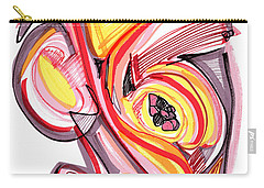 2010 Abstract Drawing Nine Carry-all Pouch by Lynne Taetzsch