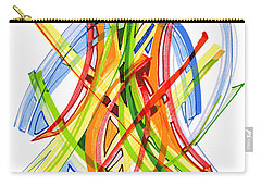 2010 Abstract Drawing Seven Carry-all Pouch by Lynne Taetzsch