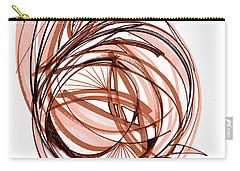 2010 Abstract Drawing Six Carry-all Pouch by Lynne Taetzsch