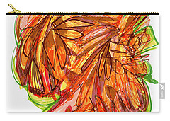 2010 Abstract Drawing Ten Carry-all Pouch by Lynne Taetzsch