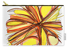 2010 Abstract Drawing Thirteen Carry-all Pouch by Lynne Taetzsch