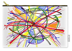 2010 Abstract Drawing Twelve Carry-all Pouch
