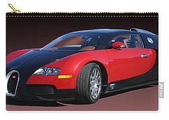2010 Bugatti Veyron E. B. Sixteen Carry-all Pouch by Jack Pumphrey