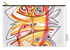 2010 Drawing Three Carry-all Pouch by Lynne Taetzsch