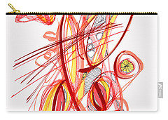 2010 Drawing Two Carry-all Pouch by Lynne Taetzsch