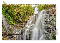 Carry-all Pouch featuring the photograph Rocky Falls by Christopher Holmes