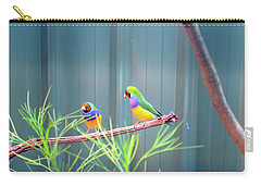 Aussie Rainbow Lovebirds Carry-all Pouch