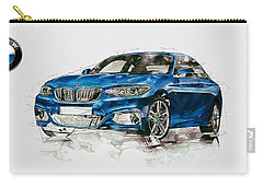 2014 B M W 2 Series Coupe With 3d Badge Carry-all Pouch